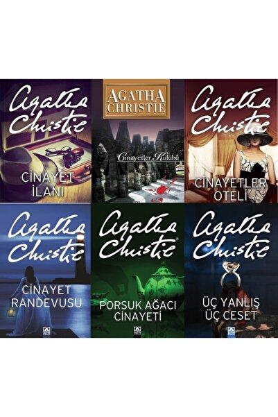 Altın Kitaplar Agatha Christie Cinayet Serisi Kitap Seti 6 Kitap