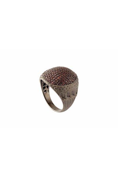 Valentine Diamond Erkek Modern Osmanlı Gümüş Yüzüğü