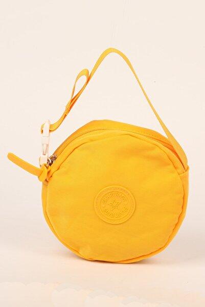 SMART BAGS Sarı Takmatik Çapraz El Ve Omuz Çantası