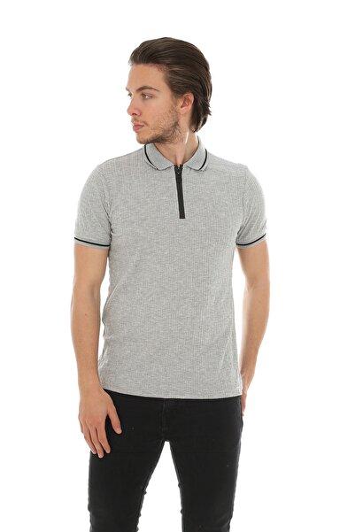 Lenasso Jakarlı Polo Yaka T-shirt Ab-y35057lns
