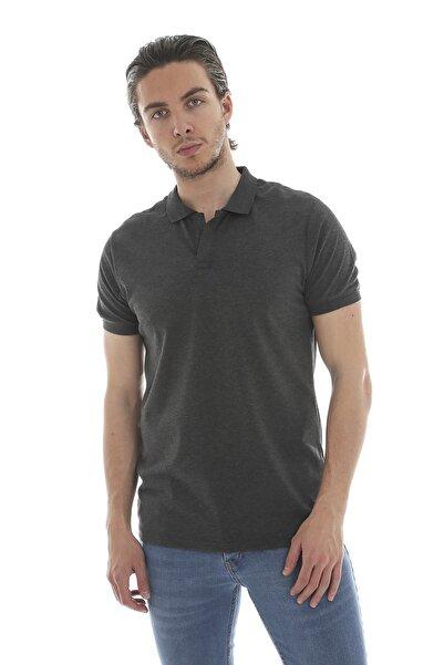 Lenasso Düğmesiz Polo Yaka T-shirt Ab-y35007lns