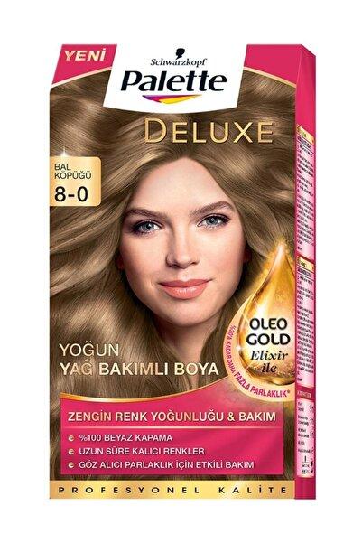 Deluxe Kit Saç Boyası 8-0 Bal Köpüğü