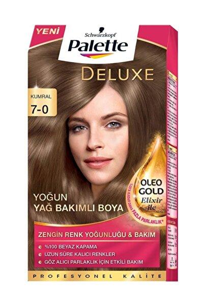 Palette Deluxe Kit Saç Boyası 7-0 Kumral