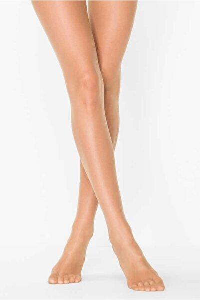 Elite Kadın Ten Rengi (57 Ten) Ince (fit 15) Külotlu Çorap