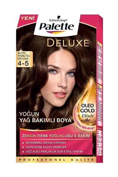 Palette Saç Boyası - Deluxe 4-5 Altın Parıltılı Mocha