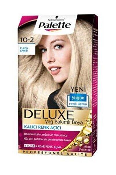 Saç Boyası - Deluxe 10-2 Platin Sarı 50 ml 8690572780831