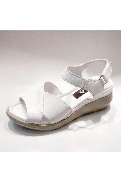 Stella Kadın  Hakiki Deri Sandalet