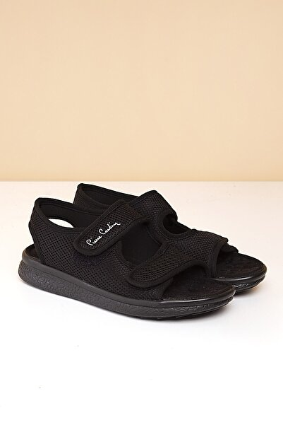 Pierre Cardin Pc-2842 - 3259-01-Erkek Siyah Sandalet