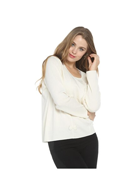 Kadın Kristal Taşlı Bluz