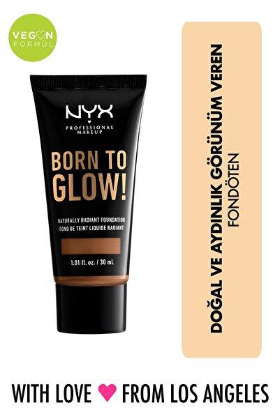 Fondöten - Born To Glow! Naturally Radiant Foundation 17 Cappuccino 800897190590