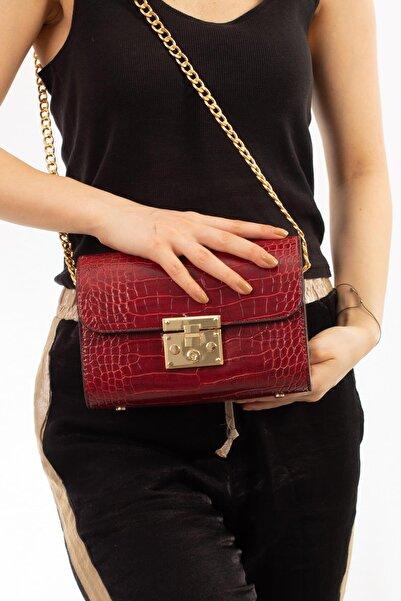 Limoya Bags Emma Kadın Kırmızı El Ve Omuz Çantası