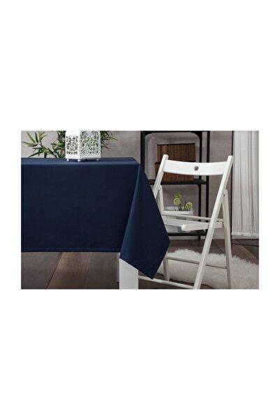 Wellstil Düz Lacivert Masa Örtüsü 130x130