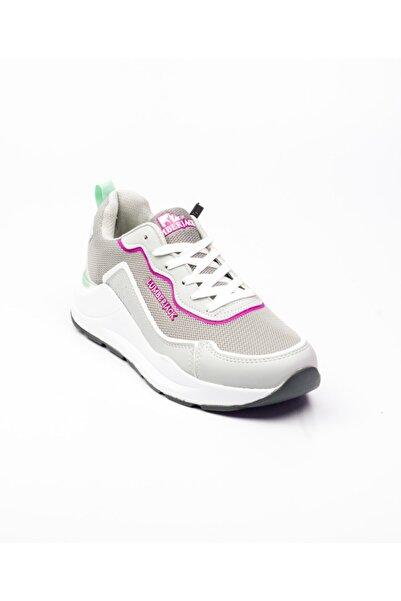 lumberjack 100486520 Heidi Gri Kadın Sneaker Ayakkabı Gri-39