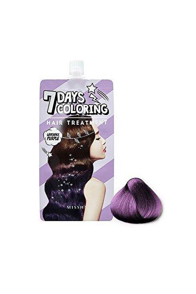 Missha Saç Boyası - Seven Days Coloring Hair Treatment Lavender Purple 25ml 8809530030578
