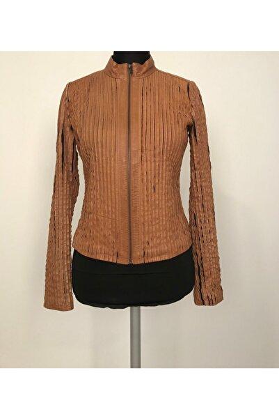 ASUS Kadın Hakiki Deri Ceket