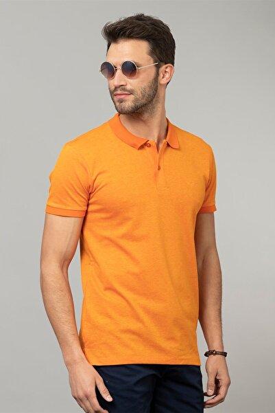 Tudors Slim Fit Polo Yaka Düz Erkek T-Shirt