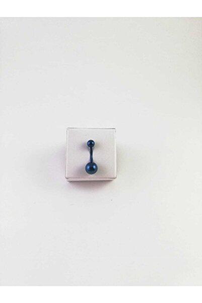 316l Cerrahi Çelik Dark Blue Göbek Piercing
