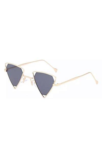 By Design Sunglasses Retro Tarz Üçgen Güneş Gözlüğü
