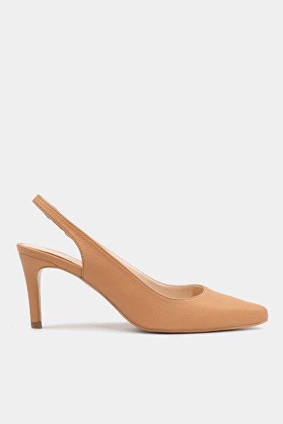 Camel Kadın  Klasik Topuklu Ayakkabı 01AYH176020A340