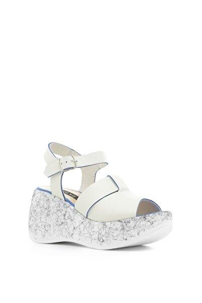 İLVİ Kadın Gri Mavi Vero Sandalet