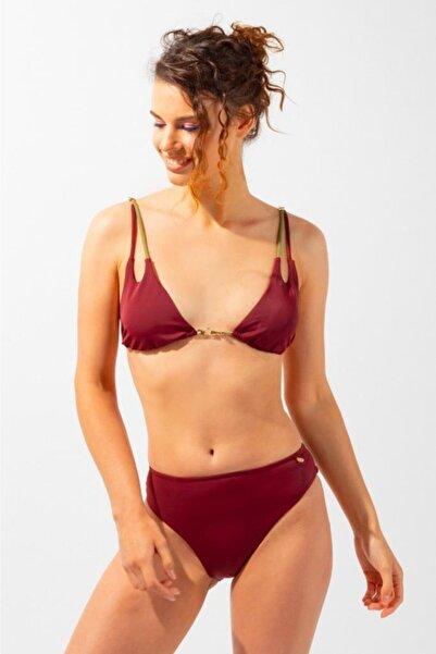 Katia&Bony Ambient Amber Ip Askılı Kadın Bikini-bordo