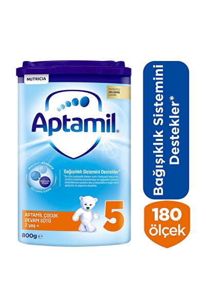 Aptamil Devam Sütü 5 Numara Toz 800 Gr Akıllı Kutu