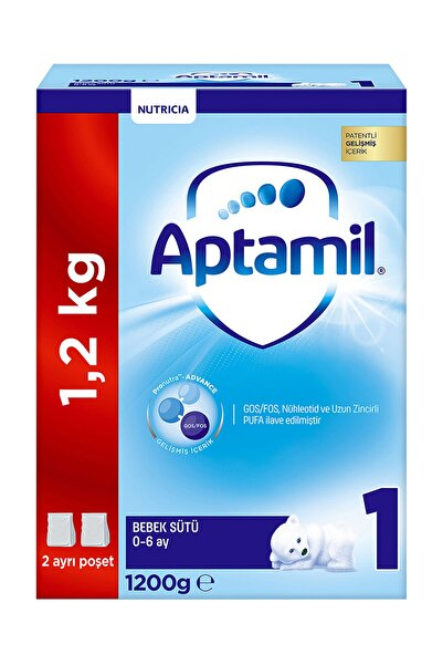 Aptamil Devam Sütü 1 Numara 1200 gr Akıllı Kutu