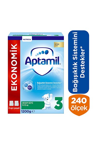 Aptamil Devam Sütü 3 Numara 1200 gr Akıllı Kutu