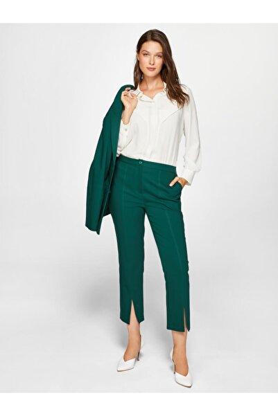 Faik Sönmez Kadın Zümrüt Pantolon 39502 U39502