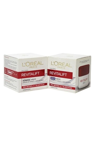 L'Oreal Paris L'oréal Paris Revitalift Gece Kremi 50ml. + Gündüz Kremi 50 ml. 4210201757715