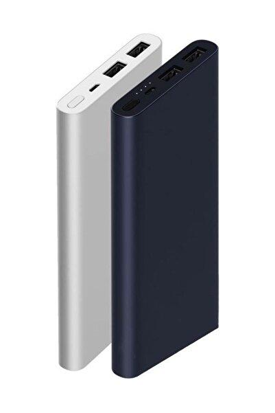 Xiaomi Mi 2i 10000 mAh Hızlı Şarj Destekli Slim Powerbank Gri