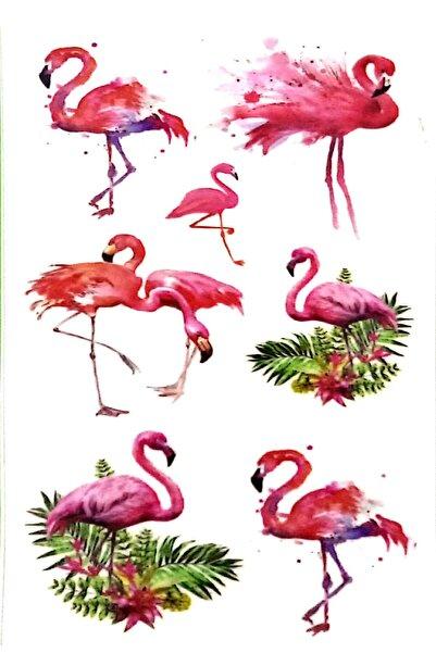 Parti dolabı Tattoo Geçici Dövme Flamingo Modelleri
