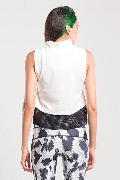 Pur Suıt Kadın T-shirt Kırık Beyaz