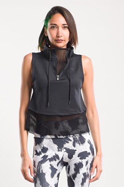 Slazenger Pur Suıt Kadın T-shirt Siyah