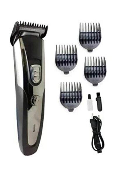 caddeoutlet Hk-550 Matri-x Profesyonel Şarjlı Saç Sakal Kesme Tıraş Traş Makinesi Seti