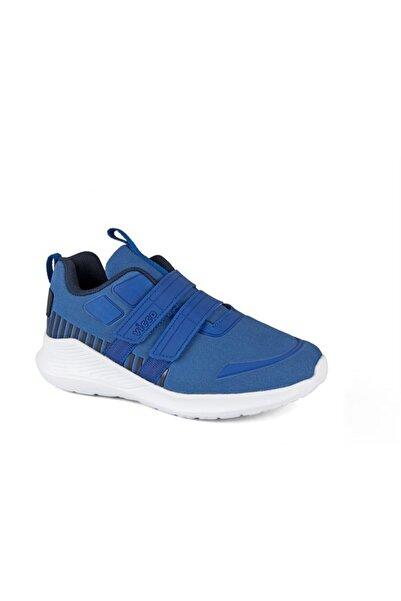 Vicco Milano Çift Cırtlı Spor Ayakkabı Saks Mavi