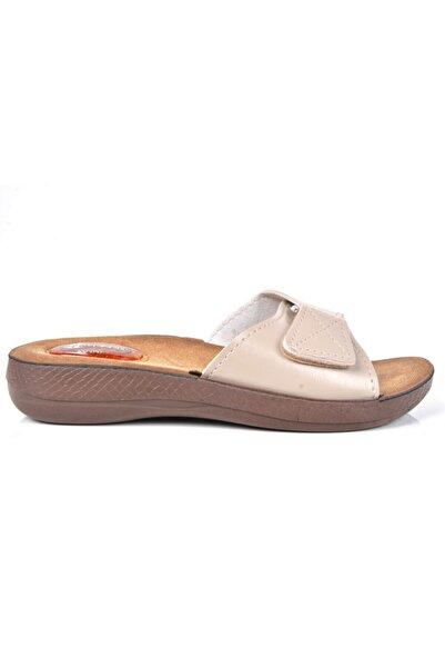 GEZER 10827 Kadın Comfort Terlik Jel Topuk Dikeni Terliği