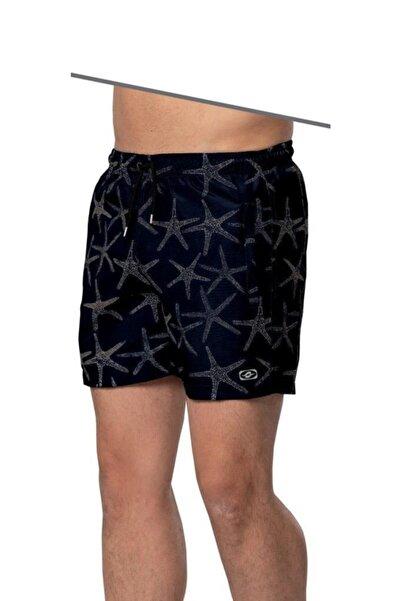 Crozwise Erkek Deniz Şortu Sdeniz Yıldızı Desenli 3146