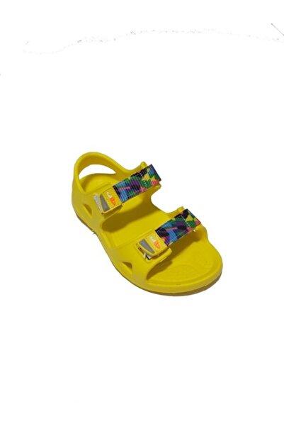 Kız Çocuk Sarı Sandalet