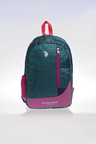U.S. Polo Assn. Plçan9226 Yeşil Okul Ve Sırt Çantası