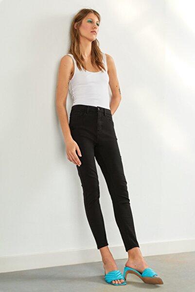 Stradivarius Kadın Siyah Pantolon 01120819