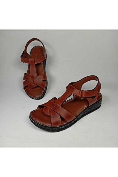 Pandora Deriland Taba Ortopedik Kadın Sandalet
