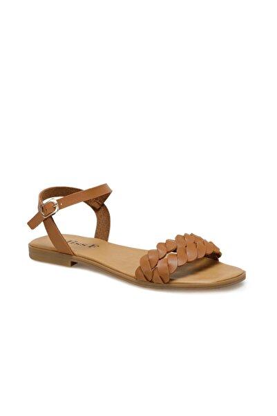 Miss F DS20027 Taba Kadın Sandalet 100517565