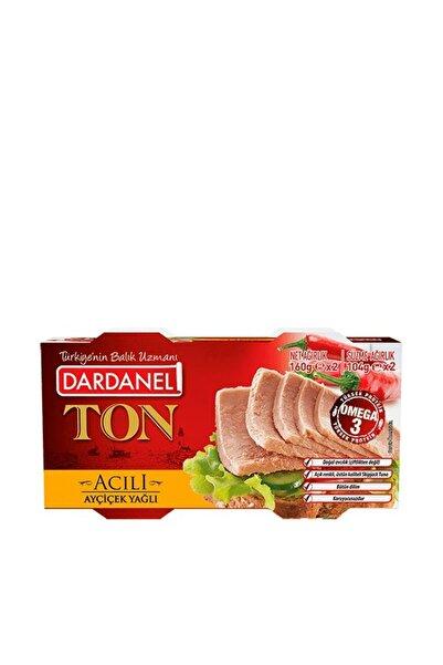 Dardanel 2'li Ton Balığı Acılı 160 gr