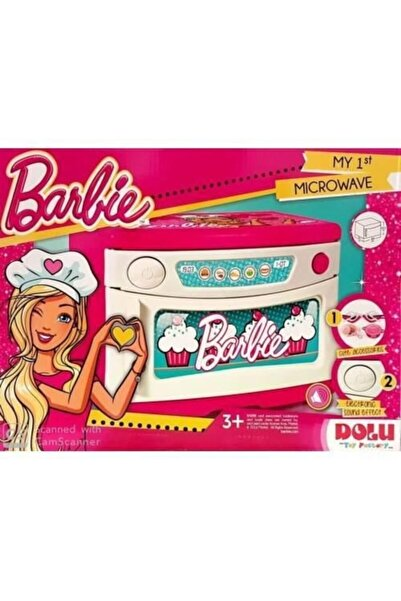 Dolu Barbie Ev Gereçleri Büyük Boy Mikrodalga Fırın 1601