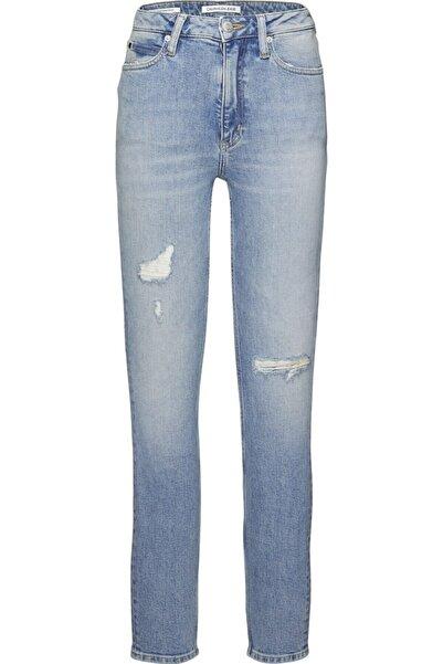 Calvin Klein J20j207627 Unisex Mavi  Pantolon