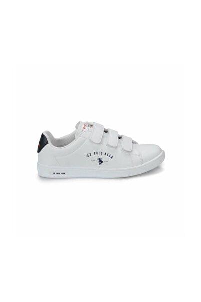U.s. Polo Assn. Kadın Ayakkabı 8P Singer Beyaz/White 20S048PSİNGER