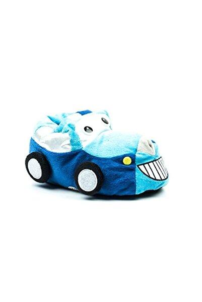 Akınal Bella Arabalı Çocuk Pandufu Turkuaz-mavi 22-23 Numara