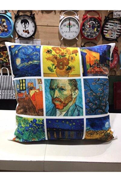 Köstebek Vincent Van Gogh - Yastık