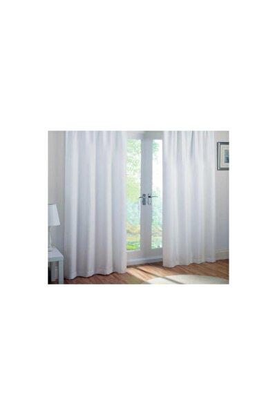 Premier Home Saten Güneşlik Perde Beyaz 200x240 cm